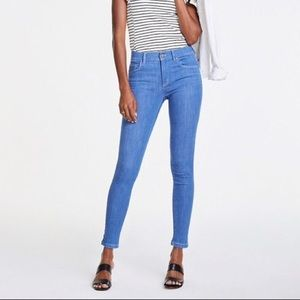 Stretchy Mid Wash Skinny Jeans